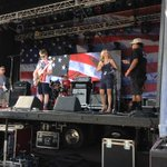 @KristySFox10 on stage introducing the music & events at the July 4 Tempe Town Lake Festival. #fox10phoenix #July4 http://t.co/TYEd4N4a0v