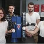 Students at University of Toronto have built the worlds first knuckleball pitching machine. http://t.co/dcRjPJyFiJ http://t.co/qFkO0AjXjf