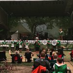 The Rider Drumline and Gainer have invaded the main stage at the Saskatoon Jazz Festival! @saskjazz http://t.co/ydN4Cmaohk