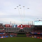 Flyovers, flags and Texas – so American. http://t.co/xok1OxfrLJ