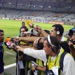 O mais assediado pela imprensa foi o estreante da noite: Marinho #sabianão http://t.co/cLgP9ZmdVX