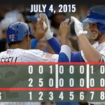 .@KrisBryant_23 backs Clayton Richards #Cubs debut with two homers, six RBIs. Recap: http://t.co/GAtxgFfMEA #LetsGo http://t.co/UDtnhS53cH