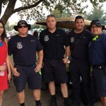Staying hydrated w/ #tempefire at Tempe Beach Park. @ErikaFloresTV http://t.co/gFKADv8pUR