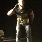 The Champion is in the house! @WWERollins @WWE #WWEWinnipeg http://t.co/S6OyQziX8R