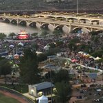Beautiful evening to be hanging out at the Tempe Beach Park! The park is beginning to fill up. @Tempegov http://t.co/OJgZoK4Izd