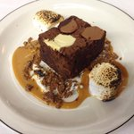 Triple Chocolate Brownie, Burnt Marshmallow, Salted Caramel #LiciousTO #toronto #ossington @thesainttavern http://t.co/ZgNnvhbMab