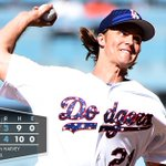 RECAP: Zack Greinke delivered 7 shutout innings to extend his scoreless streak in 4-3 win. {http://t.co/7ySzdESpQT} http://t.co/svj6LDxXI6