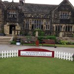 A big welcome, what a backdrop. Best tee in Yorkshire! http://t.co/p7RuCYDPdG