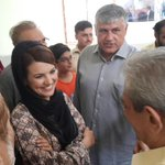 #Karachi @PTINA250 @SAK4PTI briefing @RehamKhan1 about the Railway School revamp project - adopted by @TCFPak http://t.co/lKXThAb08y