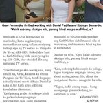 """kaya sikat ang KathNiel kasi mabait sila"" -Grae ""nakakatakot KathNiel Fans"" -Diego  http://t.co/85A3UAvpwt"