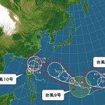 【3つの台風 今後の動きと日本への影響】 http://t.co/mhzZze8BbH 日本の南の海上には3つの台風。沖縄は8日(水)頃から荒れた天気となる恐れ。本州付近には梅雨前線が延び.. http://t.co/sY8b2YtNrl