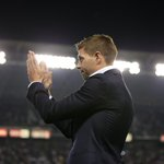 Steven Gerrard greeted the #LAGalaxy faithful at halftime of tonight's match: http://t.co/lLctO8AcOc #LAvTOR http://t.co/U5olce81TO