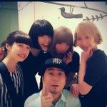 さおりちゃんに貰った写真がとても良い。正人さん with 女子。 http://t.co/T43uHEeU3H