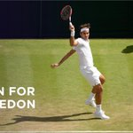 3 matches down, 4 to go. Can @rogerfederer become the first man in history to win 8 #Wimbledon titles? http://t.co/GfffwjswzI