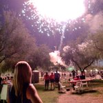 #4thofJuly #fireworks werent too bad this year. Even caught the finale with @LaurenABC15 just before the 10. #abc15 http://t.co/dFpcCbKoAs