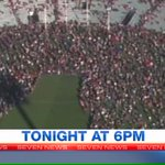 Stunning scenes at @TheAdelaideOval as thousands of fans pay tribute to Phil Walsh @7NewsAdelaide @Adelaide_FC http://t.co/ZvOn4YxT4F