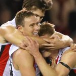 SAINT-SATIONAL! FT: @stkildafc 25.12 (162) def @EssendonFC 8.4 (52): http://t.co/Z8w2Z3zfFC #AFLDonsSaints http://t.co/WOok4ufG2y