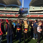 RT @Adelaide_FC: First quarter at #AdelaideOval #weflyasone #RIPPhilWalsh http://t.co/lRDHQjEd2e