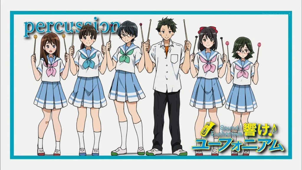 アイキャッチ集 ④13話: percussion & 集合写真#anime_eupho