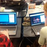 Girls outnumbered boys at #GovHackNZ #whangarei. #HackItHere http://t.co/wBw6Q01MsV