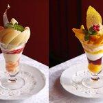 資生堂パーラーで「真夏のパフェフェア」開催!マンゴー・桃・ブルーベリーなど旬のフルーツを贅沢に使用 - http://t.co/K9Cqqbqyyw http://t.co/UtqDPBUUG4