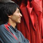 ピッチ脇で観戦する柴崎選手。楽しそうですね!#encore0705 #kashima #antlers http://t.co/FNcn5A6oHf