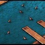 El referéndum de Grecia visto por un caricaturista de The Independent. Miles de tertulias resumidas en una viñeta. http://t.co/PvrOcYMNYt