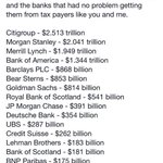 While waiting on result - here are some folks who DID get a bailout: from us. via @JohnClarke1960 #StandWithGreece https://t.co/lVkSiy8Jqa