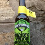 Hong Kong tipplers to get taste of worlds strongest beer, Snake Venom, at HK$1,200 a bottle. http://t.co/BqQFGwcoYT http://t.co/yArCAa7g5T