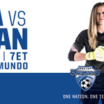 Good luck tonight, @AlyssaNaeher and @ussoccer_wnt! #SheBelieves #OneNationOneTeam ???????? http://t.co/jszCuINHak