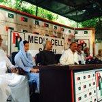 Former Opposition Leader Punjab Assembly Raja Riaz Addressing Media at @MediaCellPPP #5thJulyBlackDay http://t.co/yM3OOn0eLZ