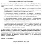 Comunicado de la CEP con motivo de los 365 dias de secuestro de Edelio Morinigo.@TelefuturoInfo http://t.co/twD5d4RYO4