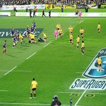 Shot of the action during the 2015 #SuperRugby Final, with the @Highlanders beating @Hurricanesrugby 21-14 (1/3) http://t.co/icKb4kZlRW