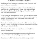 Good. From the PM: #auspol http://t.co/Pkhfh46E3V