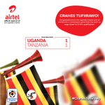 Congratulations to the Uganda Cranes! RT to congratulate the team. #CranesTufiirawo because #ItsNow http://t.co/lu641zEngI