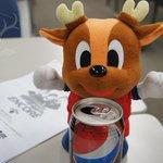 何をしたのか良く分かりませんが、アントン、「仕事やったぜ」感丸出しのペプシで乾杯。お疲れ様!#encore0705 #kashima #antlers http://t.co/Aqq5MmWgQA