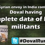 """#DovalRunningISIS #India guilty of running ISIS teams in Occupied Kashmir and Afghanistan http://t.co/bAwkd4qlKC"""" @AnjumKiani @AQpk"""