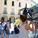La plaza de España de Villanueva se convierte en un plató de cine http://t.co/6rtBeynI77 vía @hoyextremadura http://t.co/0SWqjs5zuW
