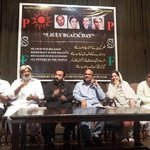 Say No To #Dictatorship Seminar #5thJulyBlackDay by Peoples Students Federation @ AlHamra auditorium #Lahore. #PSF http://t.co/Il6osaoccG