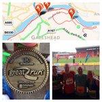 Cracking run this morning, @Great_Run #10k, #GreatNorth10k @m_thompson6492 @poneil22 #gateshead #newcastle #ukrunchat http://t.co/1qTOc7zKPX