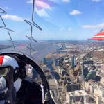 A shot of Liverpool through a Red Arrow. Now thats a photo. #itsliverpool http://t.co/mxauTNyy9i