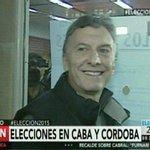 "#Eleccion2015: Vota @mauriciomacri en la Escuela ""Wenceslao Posse"" Nº16 de Palermo [EN VIVO] http://t.co/yfZTjOMgwN http://t.co/5O1YeyGEe6"