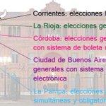 Superdomingo de elecciones: qué se elige en Capital, Córdoba, La Rioja, Corrientes y La Pampa http://t.co/M1r3fb2E37 http://t.co/2kY7lZ6xF7