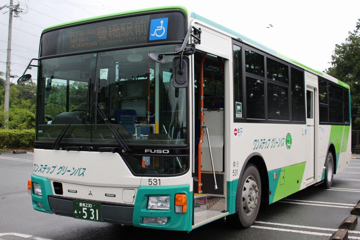 本宮の湯にて、豊鉄バスの今年の新車撮ってきた!  乗合531(QKG-MP35FM・2015年6月式)  初めてまともに見れたけど・・・うん、似合わないw(個人的に http://t.co/5Ay6hElFSp