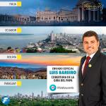 Disfrutá el contenido exclusivo vía #Periscope de nuestro enviado especial @LuisBareiro en la cuenta @TelefuturoInfo http://t.co/AW32TiqIPi