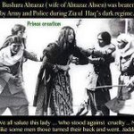 Every member of #PPP sacrifice alot for #Democracy. Women were Brutallly beaten in Zia Martial Law #5thJulyBlackDay http://t.co/Nvv1z55v08