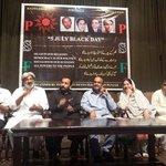 Long Live Democracy Say No To Dictatorship #PSFSeminarOnBlackDay at Al-Hamra Lahore #5thJulyBlackDay http://t.co/TAbZ1nQ66v