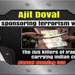 #DovalRunningISIS Ajit Devil An Indian terror spreader n monger is currently engaged to strengthen ISIS. @defencepk http://t.co/j2GhIejeJr