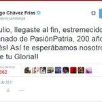 Hoy #5DeJulio se siente el #GloriaAlBravoPueblo, el patriotismo del #HuracanBolivariano. ¡Oligarcas temblad! http://t.co/KFuKgBndm9