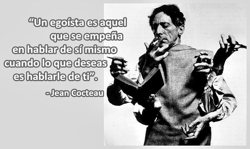 Tal día como hoy de hace 126 años, nació cerca de París, Jean Cocteau. Un hombre sensible y prolífero. Feliz domingo! http://t.co/GNcChNe1yi
